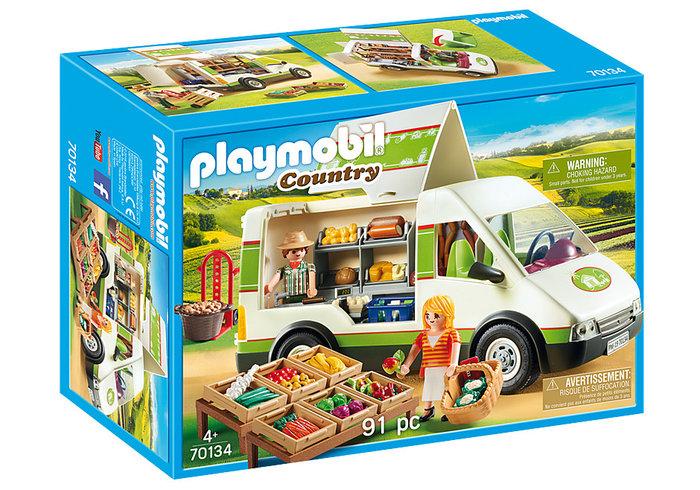 Playmobil mercado movil