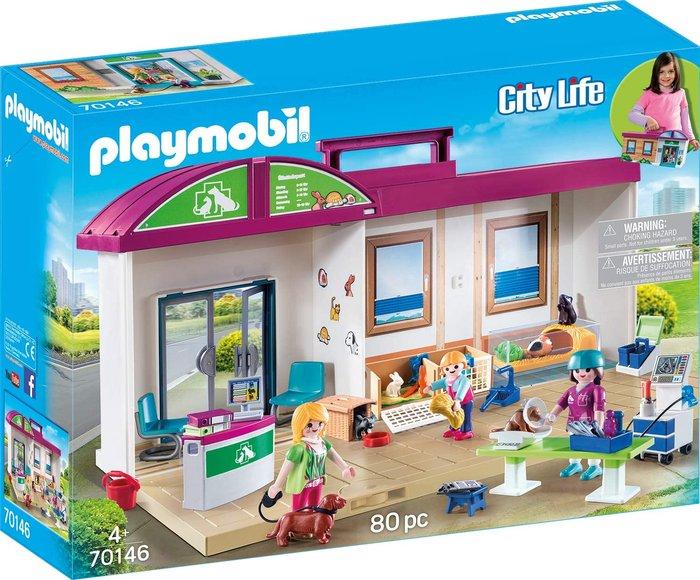 Playmobil clinica veterinaria maletin