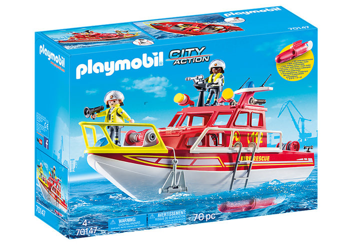 Playmobil barco de rescate