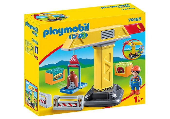 Playmobil 1.2.3 grua
