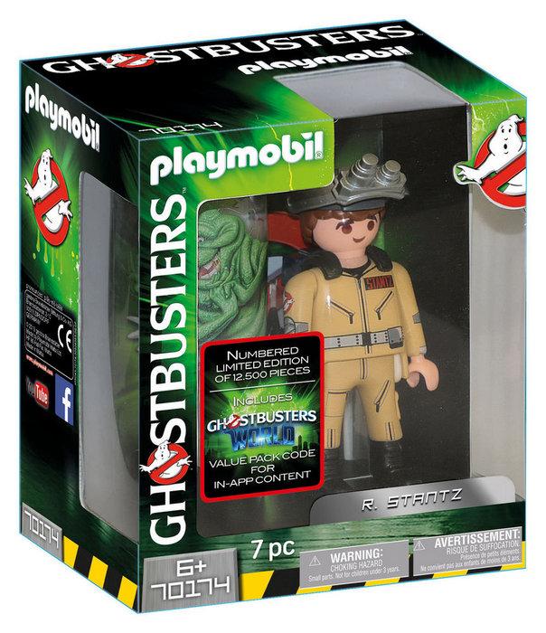 Playmobil cazafantasmas figura coleccionable r. stantz 7017