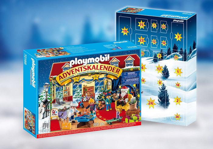 Playmobil calendario de adviento navidad en la jugueteria