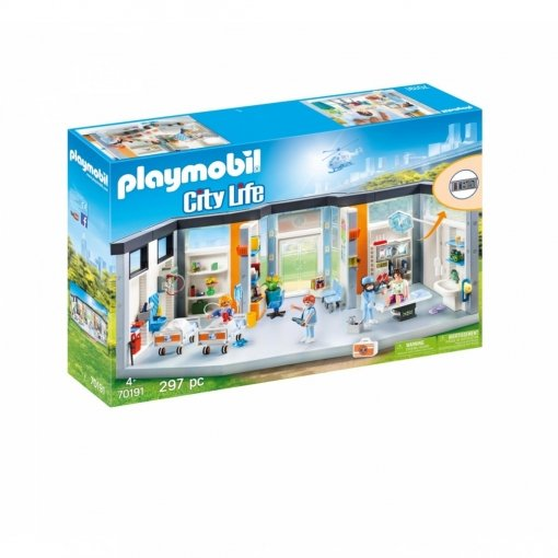 Playmobil planta de hospital