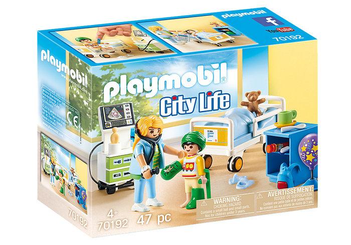 Playmobil sala hospital infantil