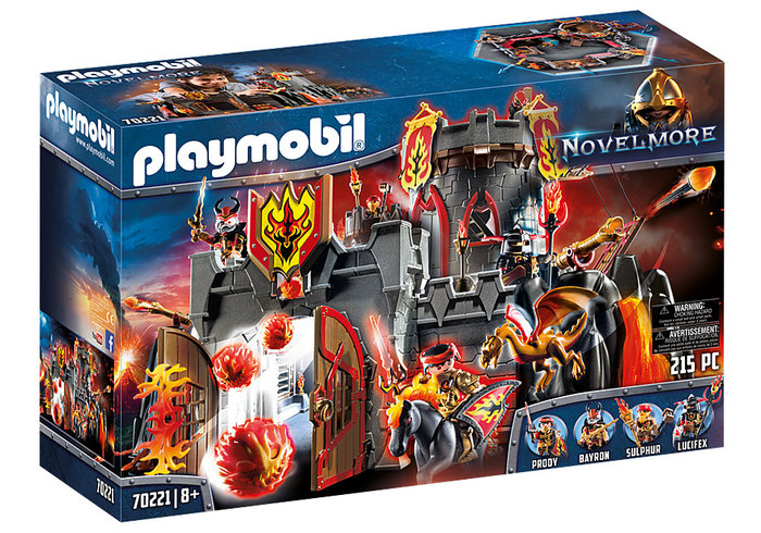 Playmobil fortaleza de los bandidos de burnham