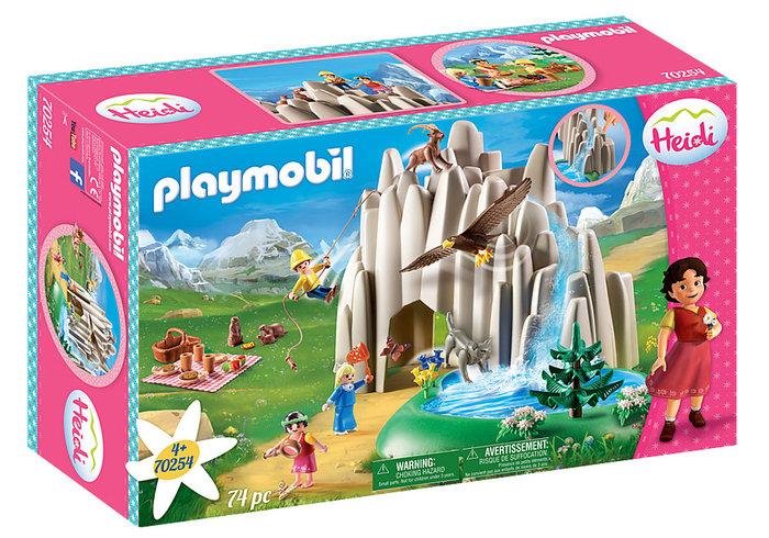 Playmobil establo de cabras de pedro