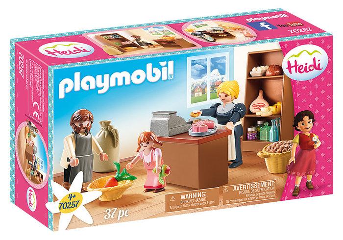 Playmobil tienda familia keller