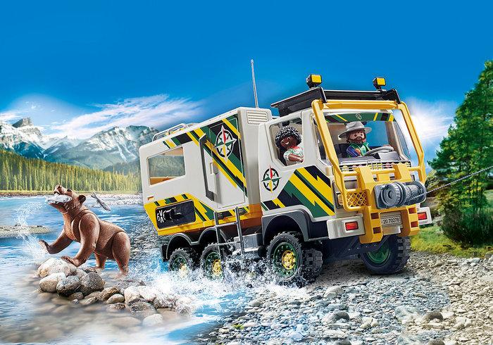 Playmobil camion de aventuras