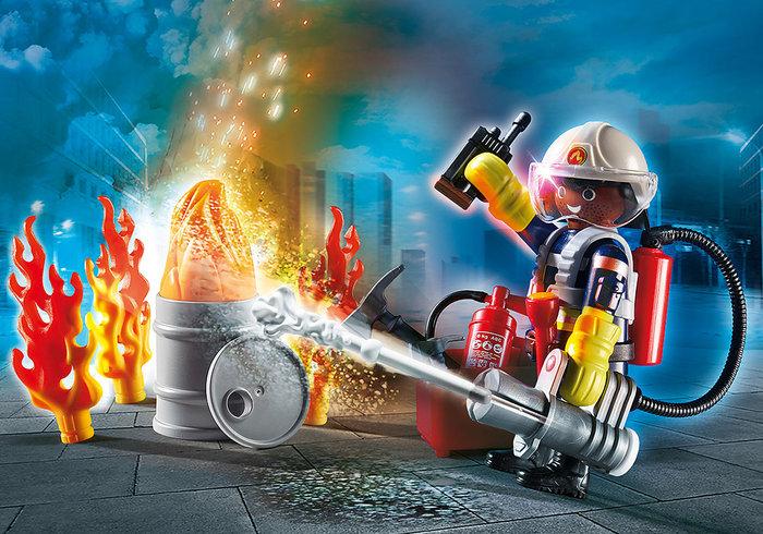 Playmobil set bomberos