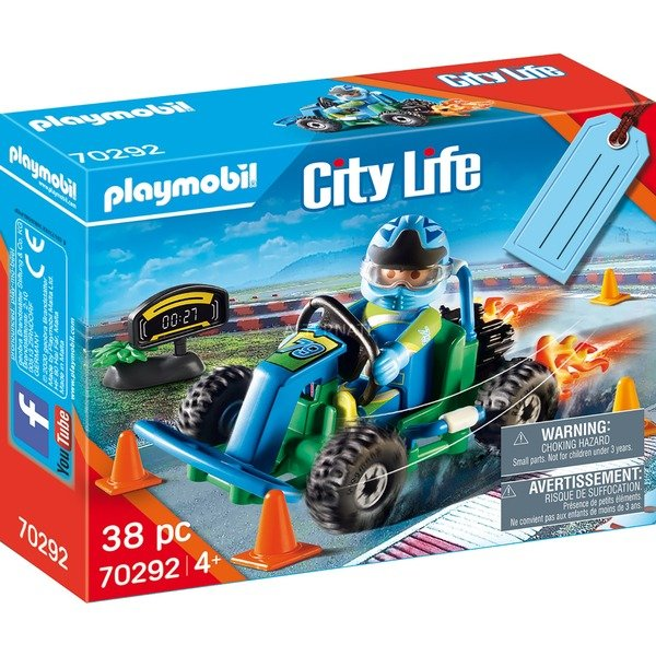 Playmobil set go-kart