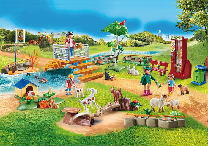 Playmobil zoo de mascotas