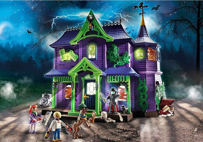 Playmobil scooby-doo! aventura en la mansion misteriosa