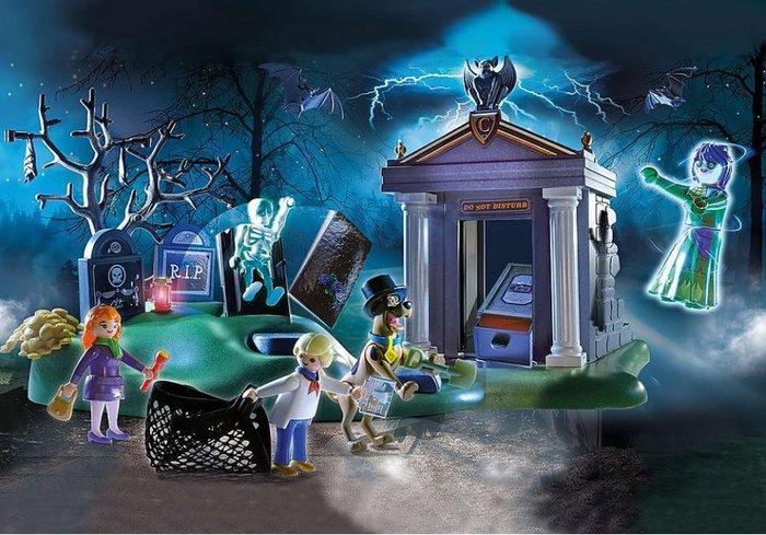 Playmobil scooby-doo! aventura en el cementerio