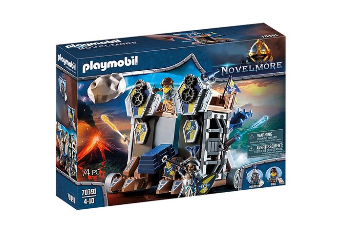 Playmobil fortaleza movil novelmore