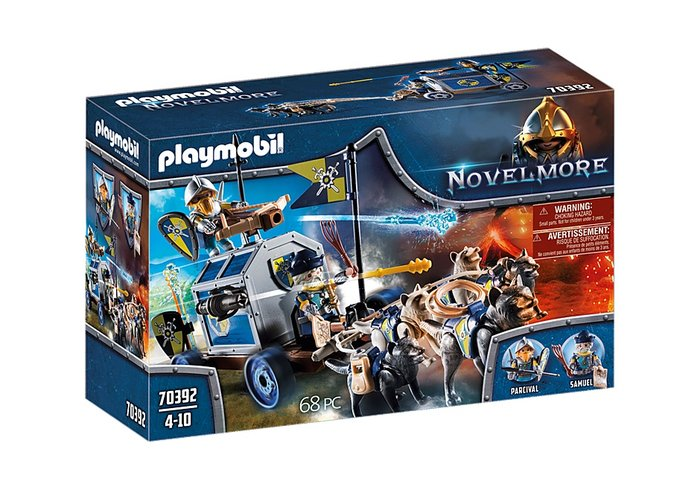 Playmobil transporte del tesoro novelmore