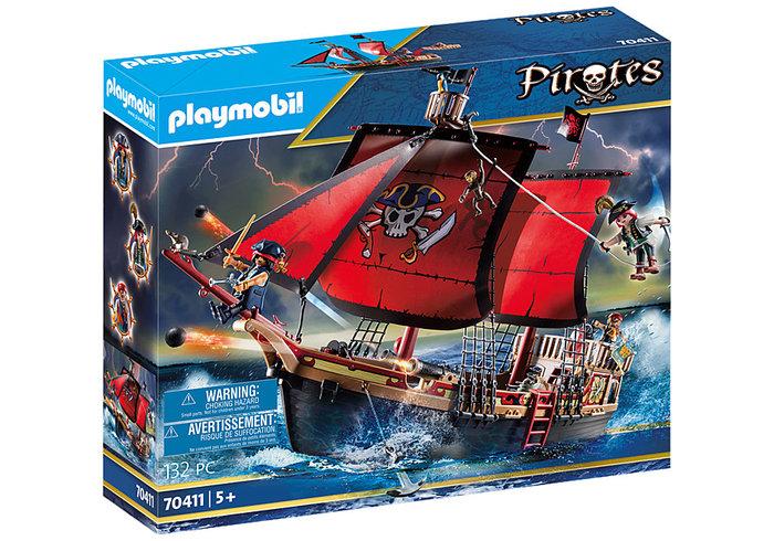 Playmobil barco pirata calavera