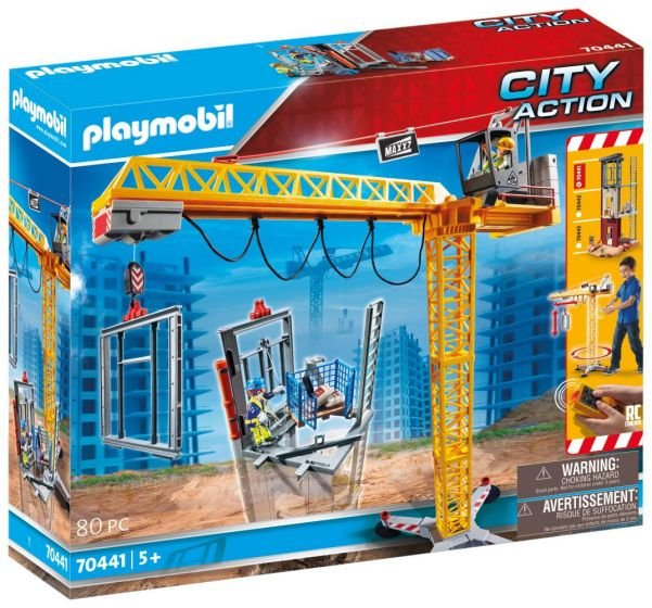Playmobil grua rc