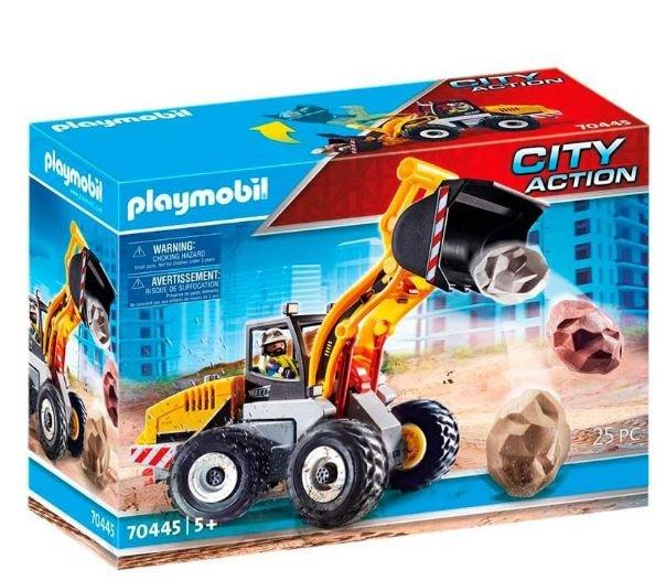 Playmobil cargadora frontal