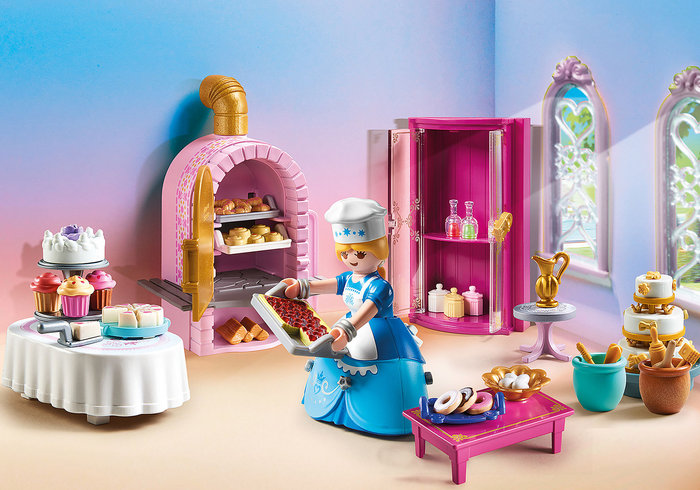 Playmobil pasteleria del castillo