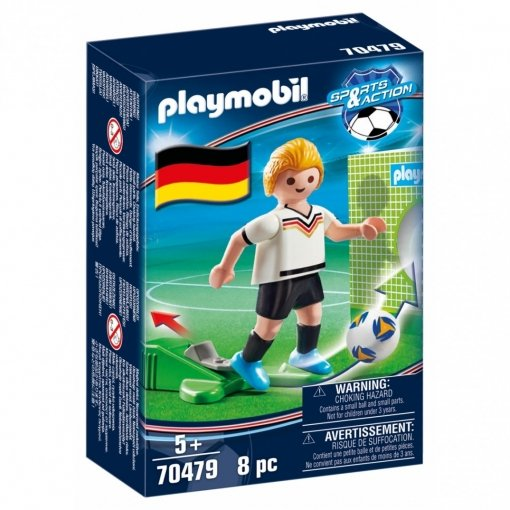 Playmobil jugador de futbol alemania
