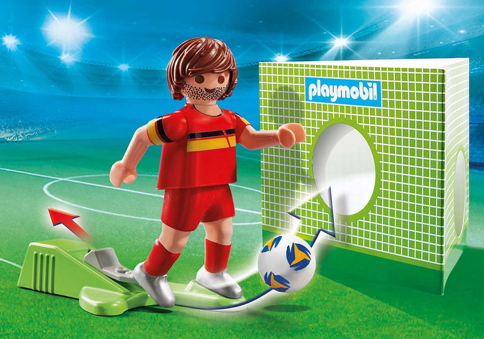 Playmobil jugador de futbol belgica