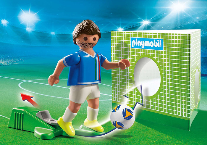 Playmobil jugador de futbol italia