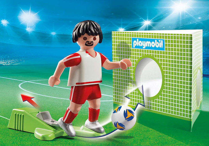 Playmobil jugador de futbol polonia