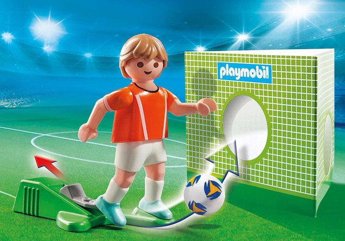 Playmobil jugador de futbol holanda