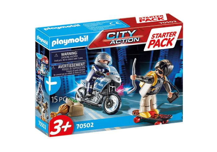Playmobil starter pack policia set adicional