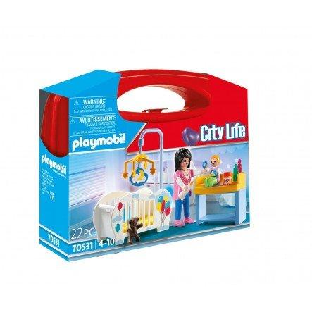 Playmobil maletin habitacion bebe