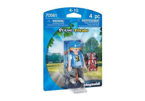 Playmobil adolescente con coche rc