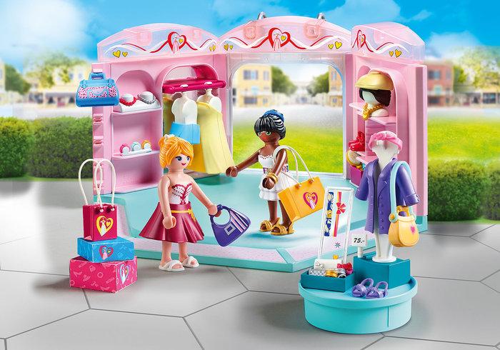 Playmobil tienda de moda