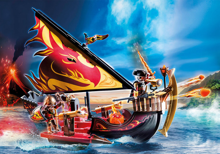 Playmobil barco bandidos de burnham