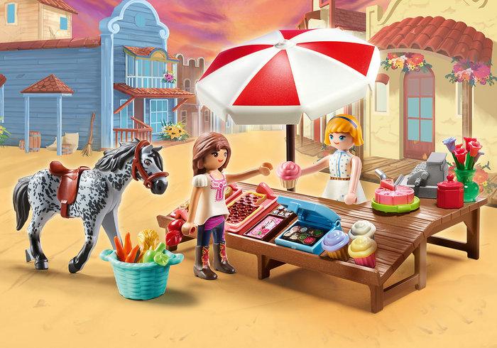 Playmobil miradero tienda de dulces