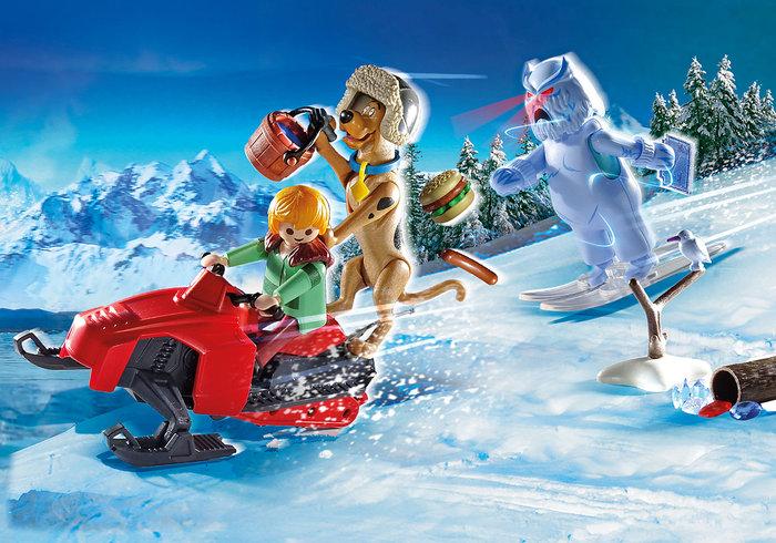 Playmobil scooby doo aventura con snow ghost