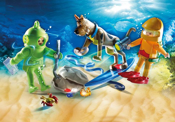 Playmobil scooby doo aventura con ghost of captain cutler