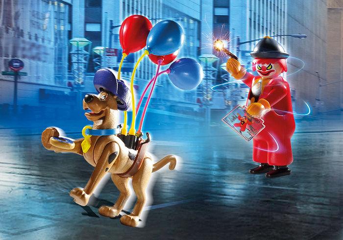 Playmobil scooby doo aventura con ghost clown