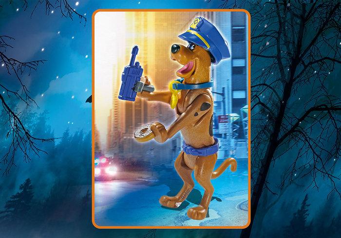 Playmobil scooby doo figura coleccionable policia