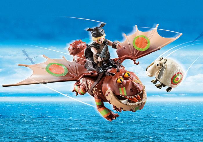 Playmobil dragon racing barrilete y patapez