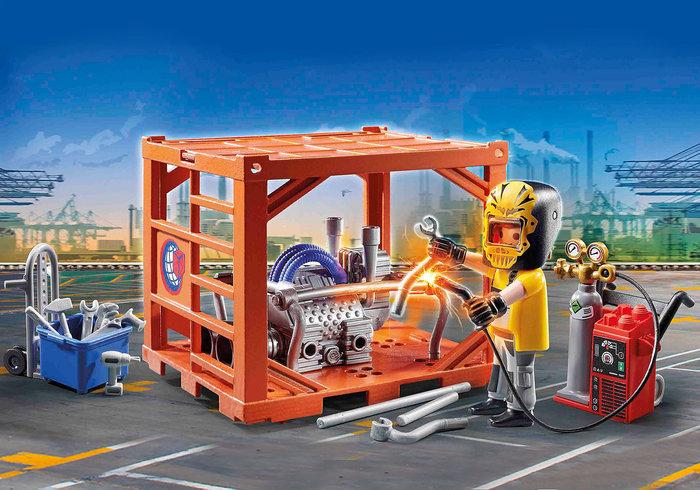 Playmobil fabricante de contenedores
