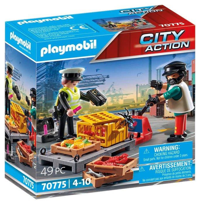 Playmobil control aduanero