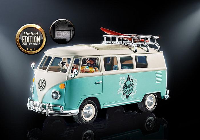 Playmobil volkswagen t1 camping bus - edicion especial