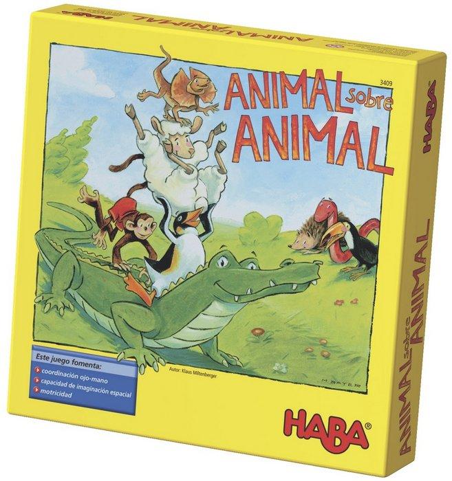 Juego haba animal sobre animal