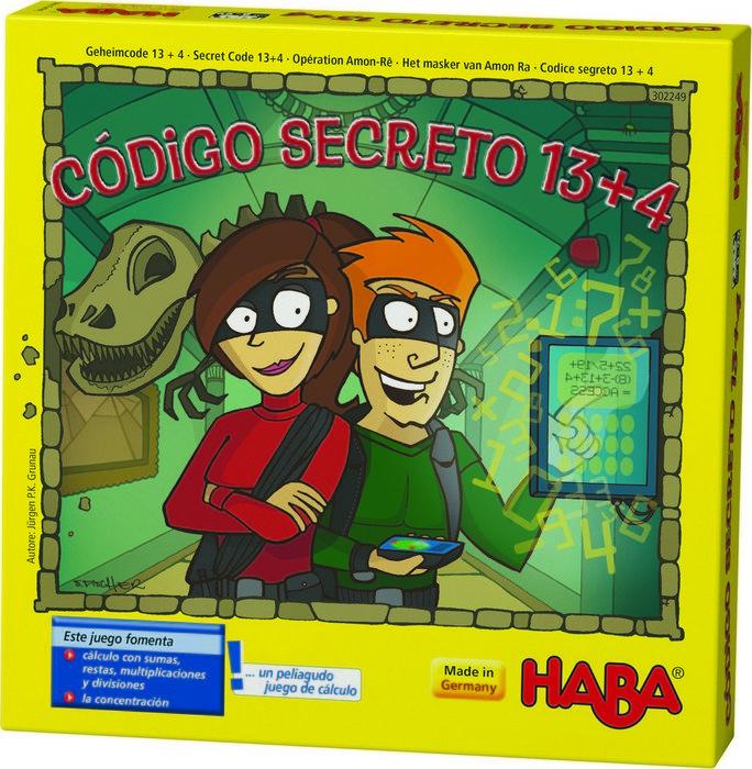 Juego haba codigo secreto 13 + 4