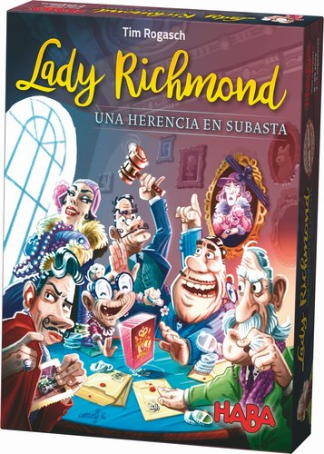 Juego haba lady richmond. una herencia en subasta