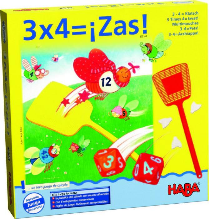Juego haba 3 x 4 = zas