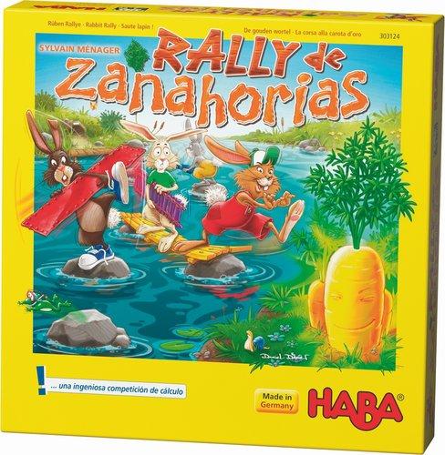 Juego haba rally de zanahorias