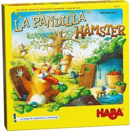 Juego haba la pandilla hamster