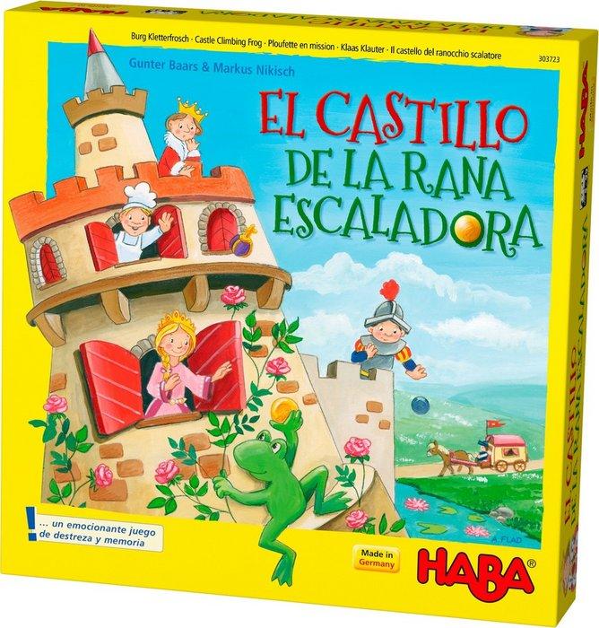 Juego haba el castillo de la rana escaladora