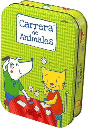 Juego haba carrera de animales